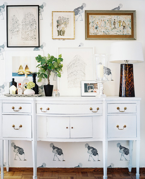 White Sideboard Photos, Design, Ideas, Remodel, and Decor - Lonny