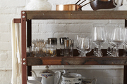 A baker's cart in the house of Elisa Marshall and Benjamin Sormonte
