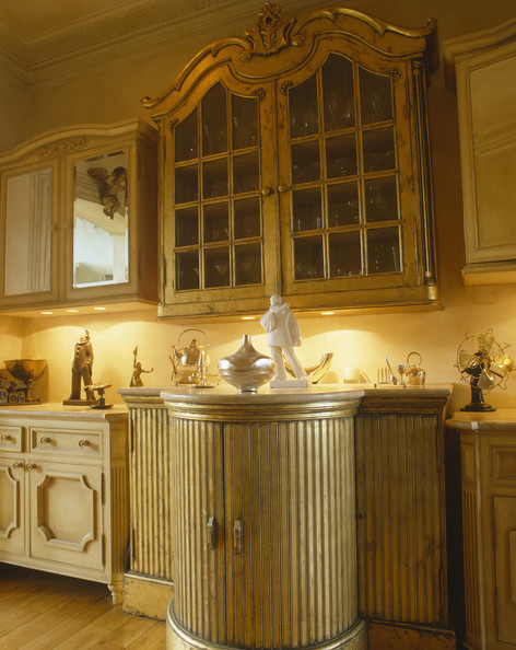 Ornate Kitchen Cabinets