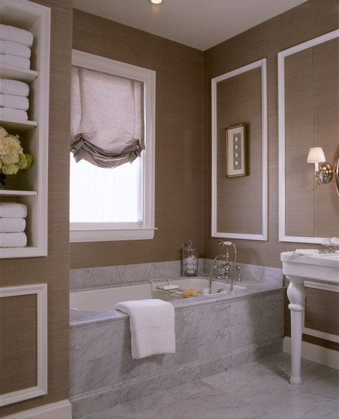 wall coverings for bathrooms - photo #15