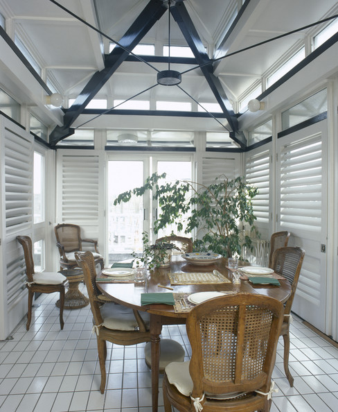 louver door photos 1 of 1 traditional dining room - Louvered Dining Room Decor