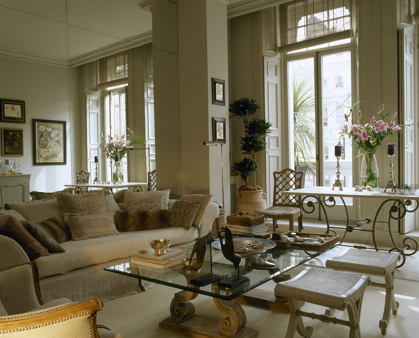 Sofa Beige Sofa Photos  Design  Ideas  Remodel  and Decor   Lonny. Living Room Paint Ideas Beige Furniture. Home Design Ideas
