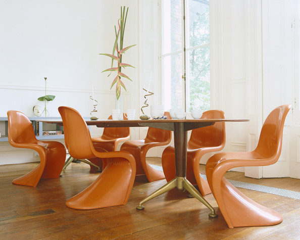 Retro Dining Chairs - Dining Room Decorating Ideas - Lonny