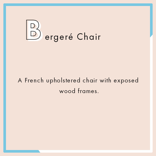 Bergeré Chair