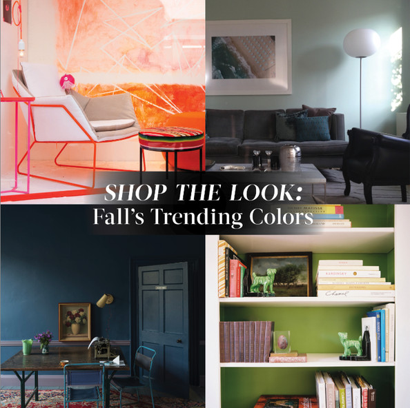 Shop The Look: Fall's Trending Colors