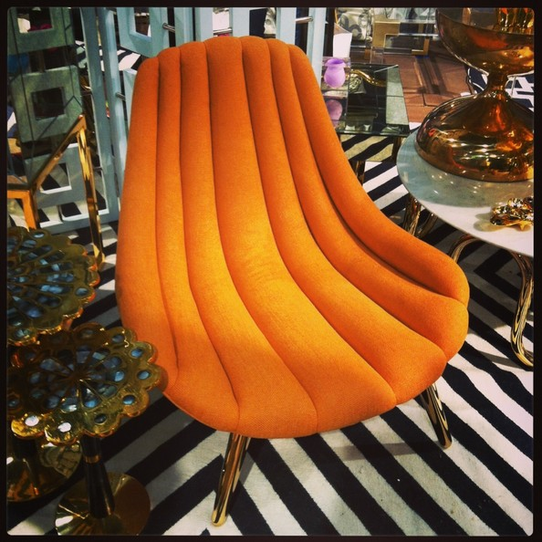 See It Now Jonathan Adler S Favorite New Chair At Icff News From The Lonny Team