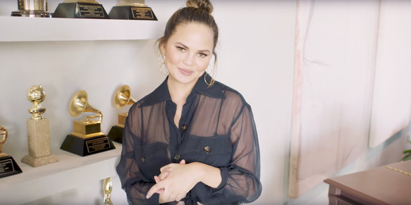 Explore Chrissy Teigen's Halloween-Ready Home In Vogue's 73 Questions Video
