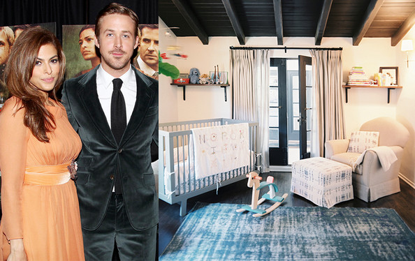 Ryan Gosling and Eva Mendes' Nursery Decor Checklist
