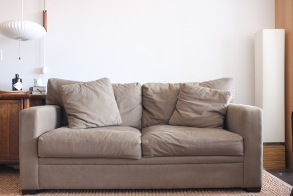 One Editor's Mini-Makeover: The Sofa
