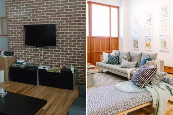 Apartment Decorating Before And After
