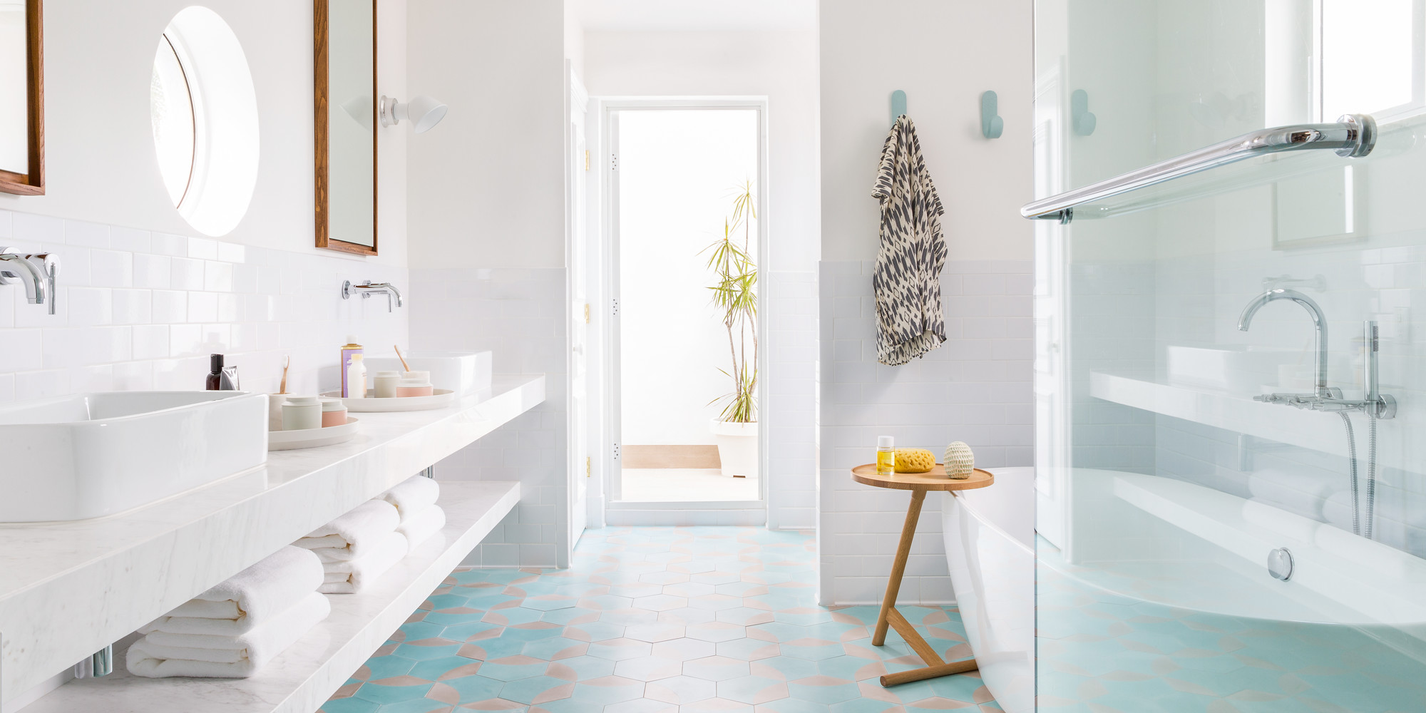Unique Bathroom Tile Ideas You've Probably Never Seen - Lonny