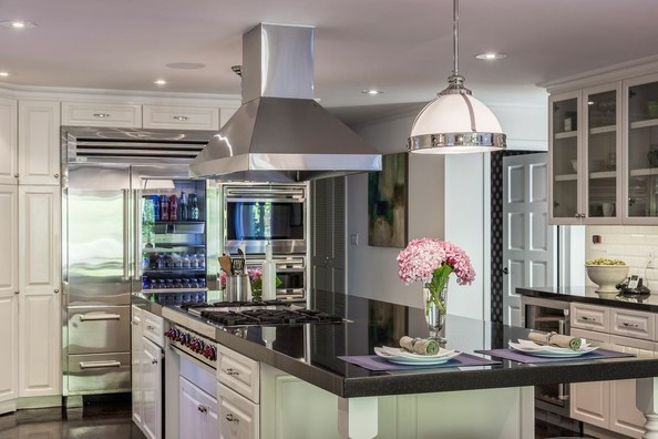 Cool Kitchen Neil Patrick Harris 39 S California Compound