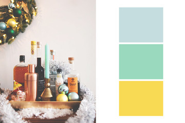 Non-Traditional Holiday Color Pairings