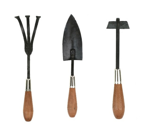 Handmade gardening tools by brook farm general store for Gardening tools 4 letters