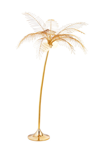 Palm Tree Breeze Cb2 And Fred Segal, Palm Floor Lamp Cb2