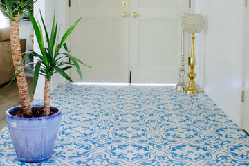 Before & After: Tiling Your Entryway