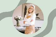 Olympian Nastia Liukin Designed A Gold Medal-Worthy Home Office With Pottery Barn