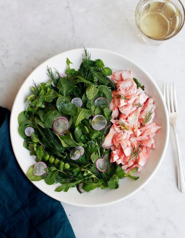 This Easy Salmon Salad Recipe Is Your New Summer Obsession
