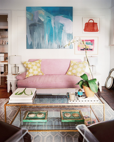 Get the Look : A Vintage-Gone-Girly New York City Living ...