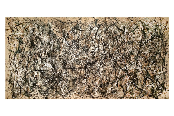 Jackson Pollock's Number One
