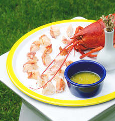 Michael Devine Reports: Chilled Lobster Bites