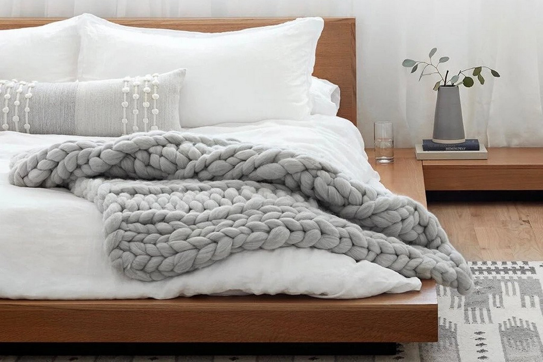 The Best Chunky Knit Blankets For 2021 Best In Blankets Lonny