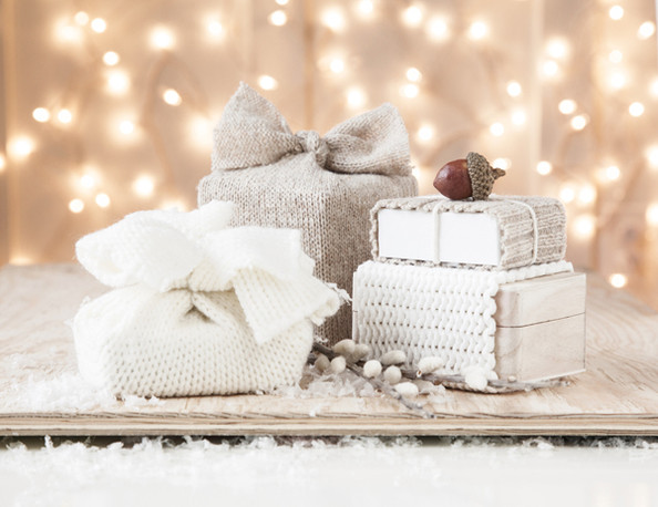Boxwood Clippings Holiday Gift Wrap Ideas