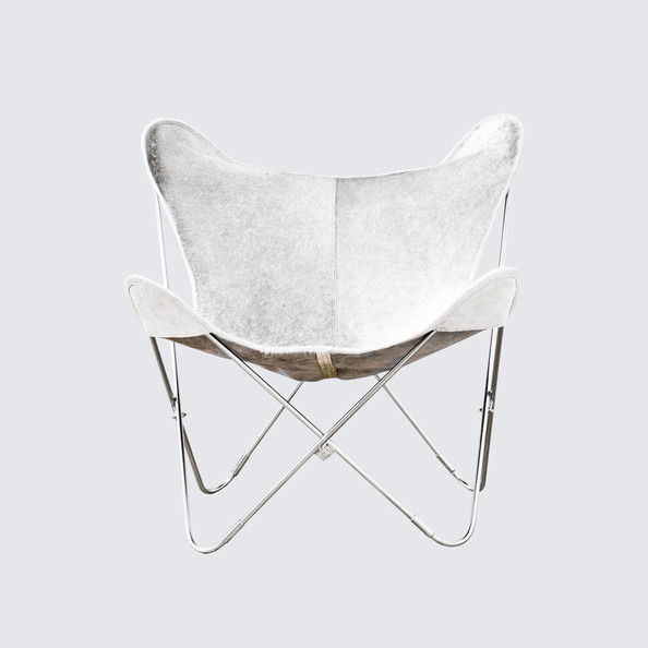 Palermo Cowhide Butterfly Chair