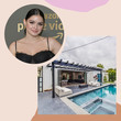 Ariel Winter's Poolside Pad