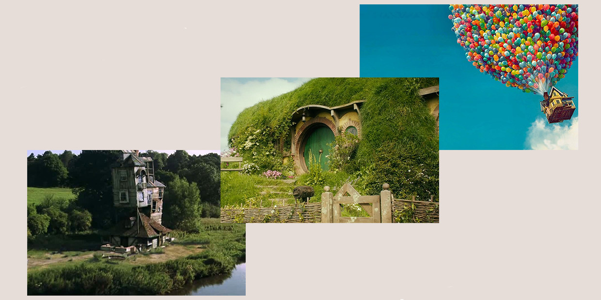 The Fictional Houses People Want To Live In