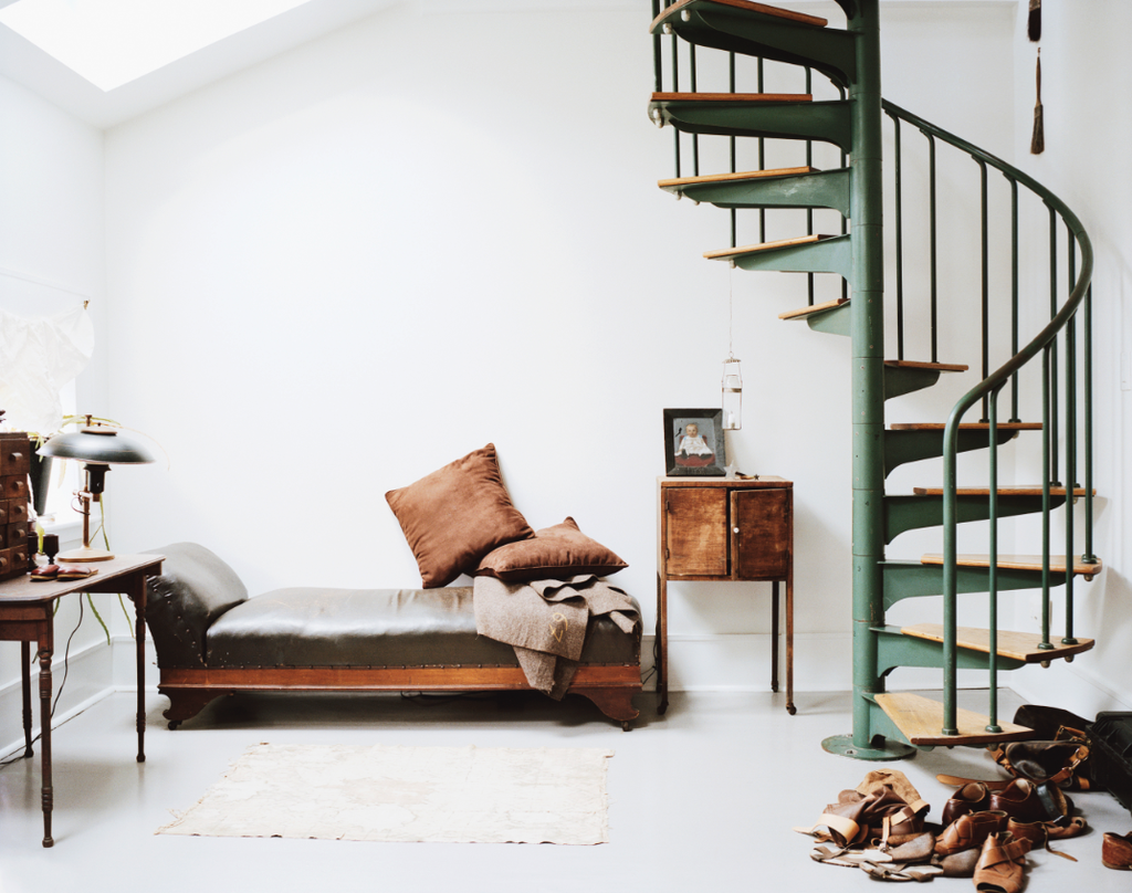 The Inspired Home: Nests of Creatives - Design Inspiration - Lonny