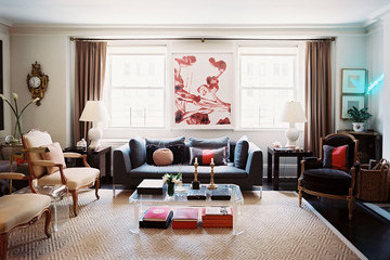 Throwback Home Tour: Blair Clarke's Artful Park Avenue Apartment