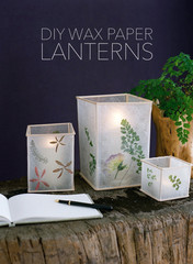 DIY Wedding: Wax Paper Lanterns