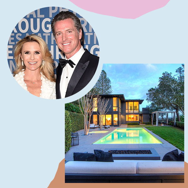 California Governor Gavin Newsom's Modern $5.9 Million Marin County Home