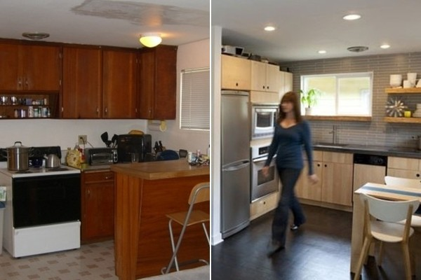 Before + After: A Retro Modern Kitchen Makeover