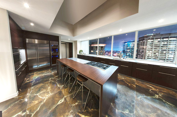 The kitchen inside christian grey 39 s apartment from 50 50 shades of grey house