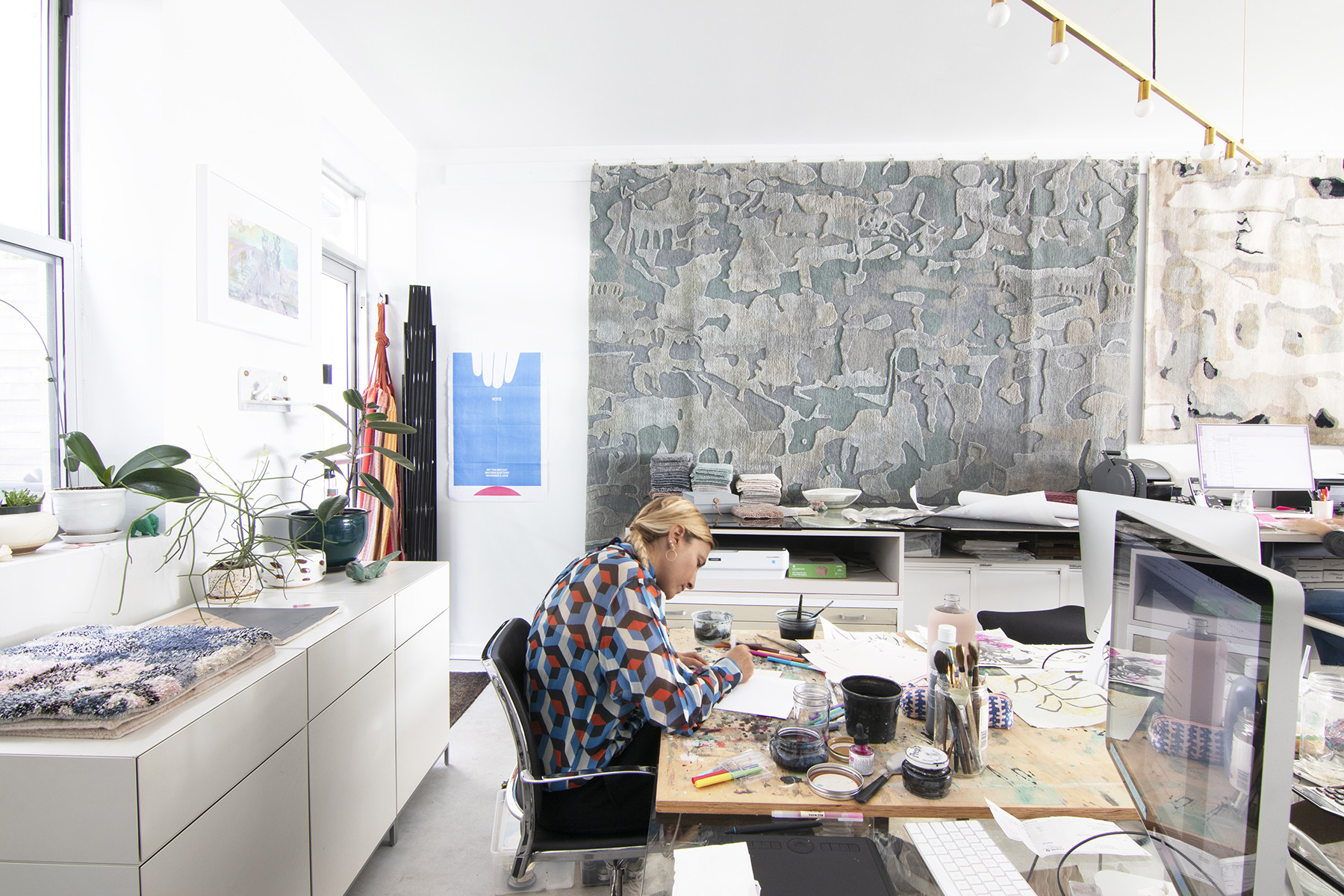 Inside Eskayel's Bold Williamsburg Design Studio