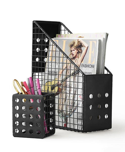 Perforated Metal Desk Accessories