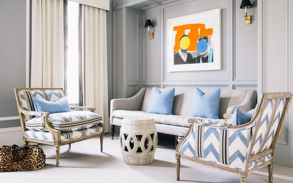 The Master Bedroom Seating Area