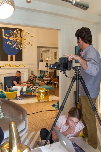 Behind the Scenes with Jonathan Adler and Simon Doonan