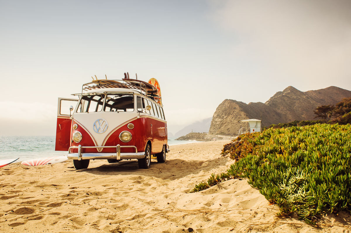 A VW van will never go out of style.
