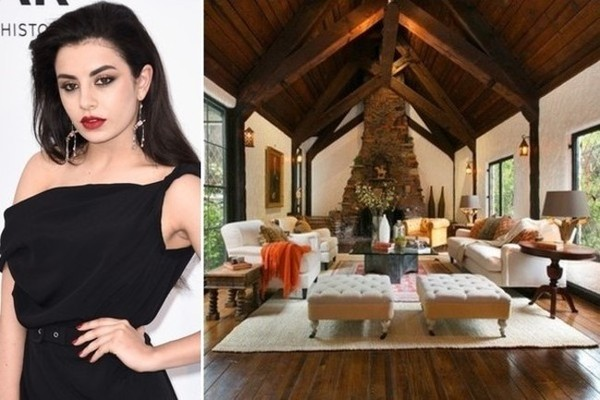 Brit Singer Charli XCX's Hollywood Home is Flush with English Charm