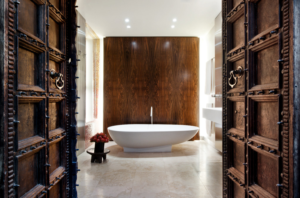 Shower As Showcase Gaudi Inspired Tile By David Howell