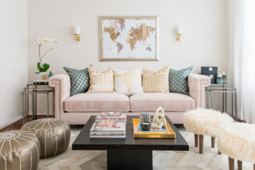 VIDEO: YouTube Star Desi Perkins's Living Room Makeover