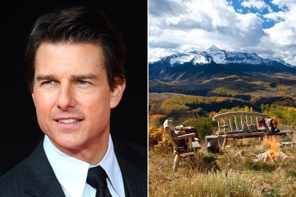 Movie Star In The Mountains Tom Cruise 39 S Colorado
