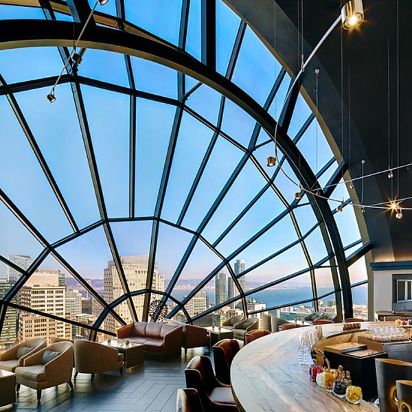 The View Lounge At S.F. Marriot Marquis