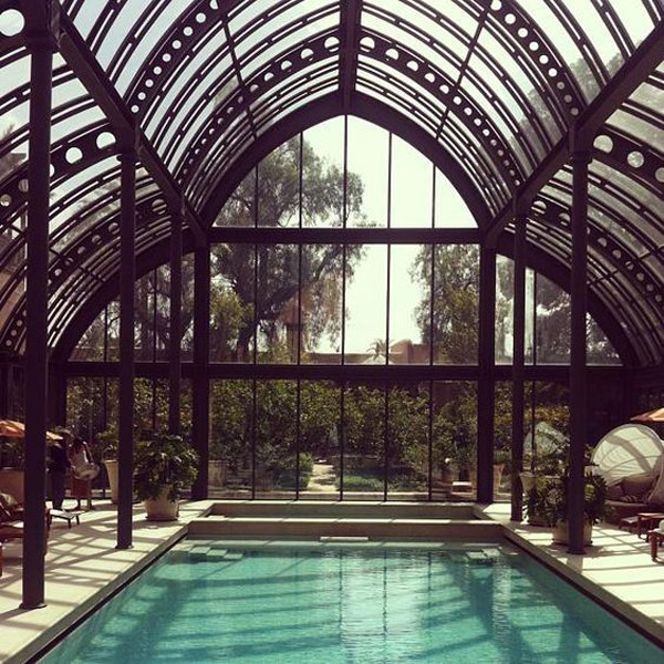 A Cool Conservatory 10 Design Driven Pools To Escape From Winter Woes Lonny