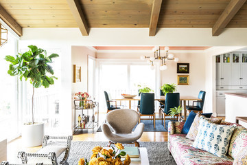 We Can't Take Our Eyes Off This Mid-Century Remodel