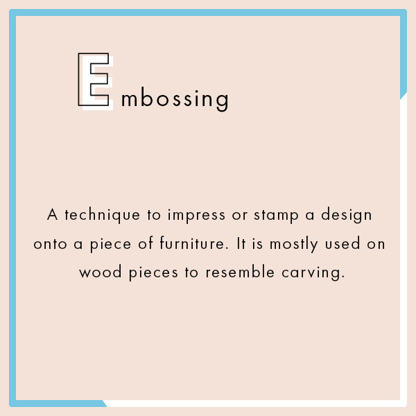 Embossing The Ultimate Interior Design Dictionary Lonny