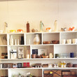 Nube Green's Open Shelving